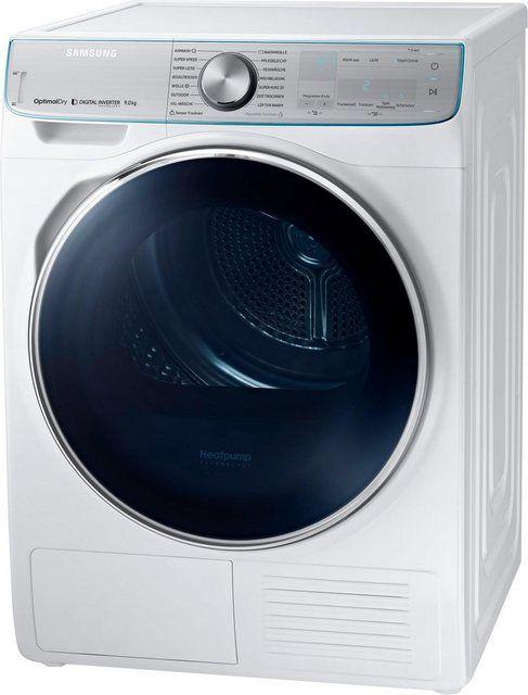 Warmepumpentrockner Dv8800 Quickdrive Dv90n8289aw Eg 9 Kg Warmepumpentrockner Trockner Und Kindersicherung