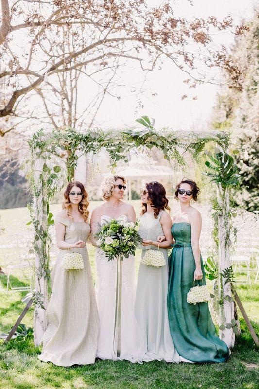 Hochzeits Shooting Aiola Im Schloss St Veit Graz Greenery Brautjungfern Kleid Hochzeit Brautjungfern Kleider