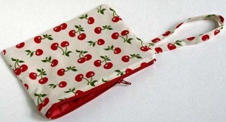 bolsinha de tecido