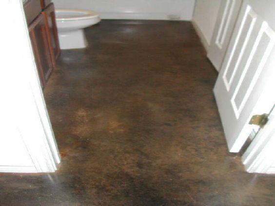 Rustic Cement Floor Interior Decorative Concrete