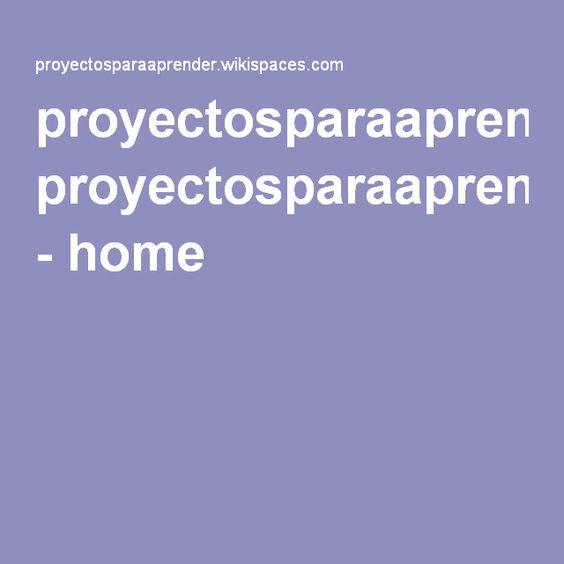 Wiki sobre Aprendizaje Basado en Proyectos