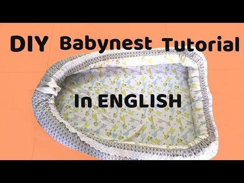 Diy Babynest Newborn Bed Step By Step Tutorial How To