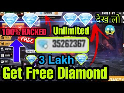 Unlimited Diamond Get Free Diamonds In Free Fire Free Diamonds