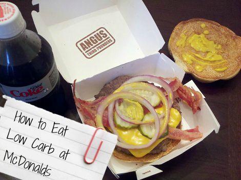 Best diet options at mcdonald's