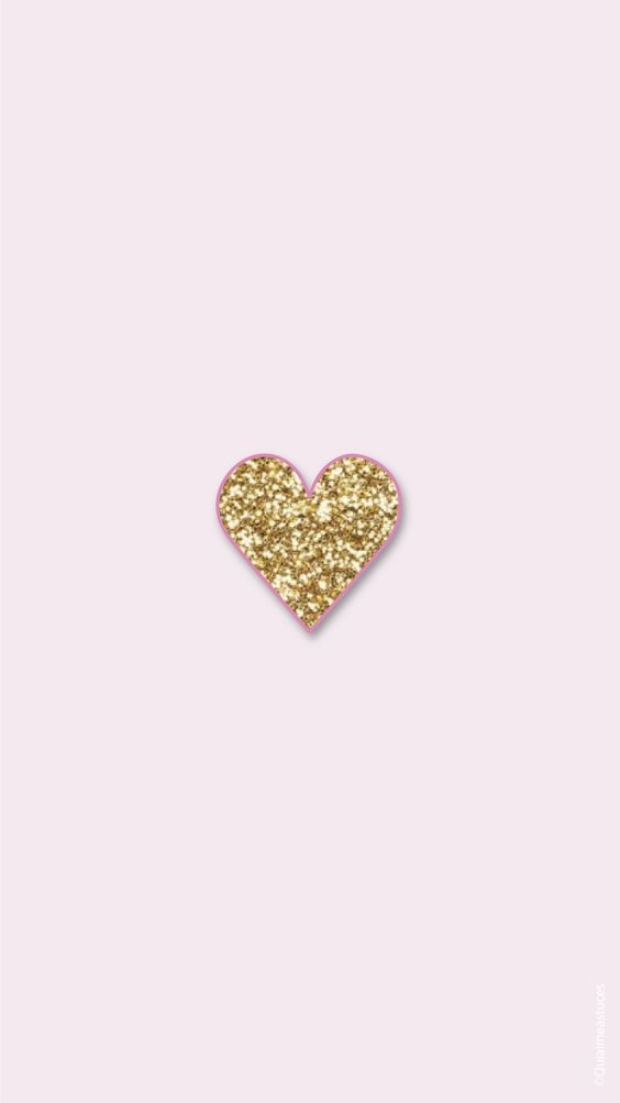 hello beauty simple pink gold iphone home wallpaper