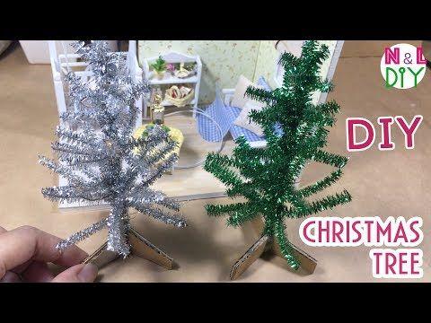 Youtube Miniature Christmas Trees Diy Christmas Tree Diy Christmas Village Accessories