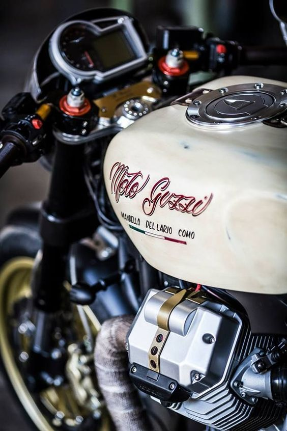 The sum of parts. #motoguzzi #caferacer #vintage