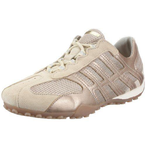 GEOX Damen / Mädchen Sneaker - beige gold - Materialmix - Größen 35 + 41 - http://on-line-kaufen.de/geox/geox-damen-maedchen-sneaker-beige-gold-groessen
