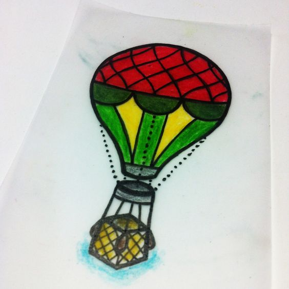 simple tattoo sketch - balloon