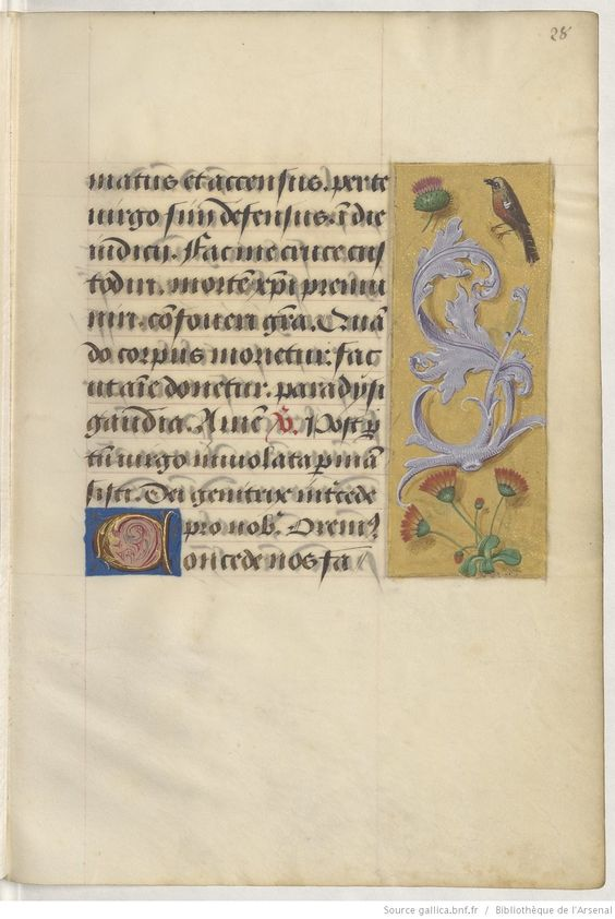 Livre d'heures, en latin et en français, à l'usage de Cambray