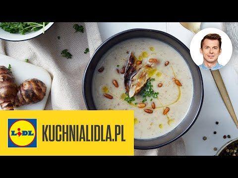 Zupa Krem Z Topinamburu Karol Okrasa Kuchnia Lidla Youtube In 2021 Food And Drink Food Cheeseburger Chowder