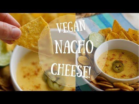7 Vegan Nacho Cheese Recipe Oil Free Healthy Youtube Vegan Nachos Cheese Vegan Nachos Nachos Cheese Recipe