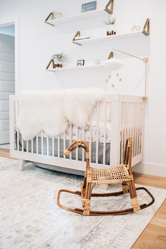 Find A Modern Mix of Neutral and Baby Bunny in This Sweet Nursery