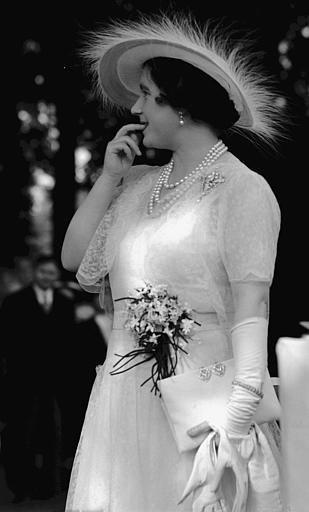 Queen Elizabeth (later the Queen Mother):