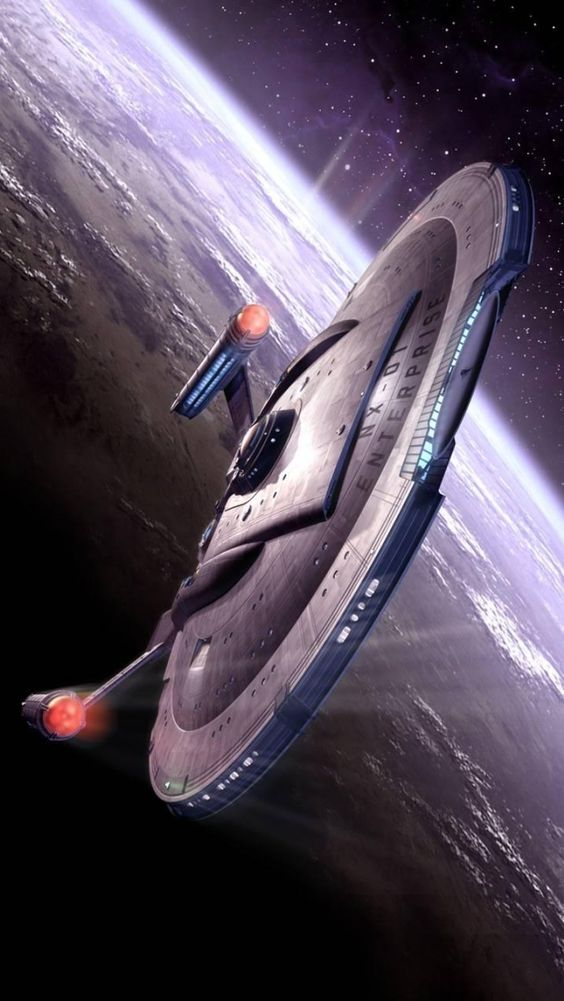 Earths first Warp Five Starship the Enterprise NX 01