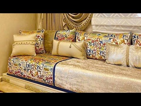 صالونات مغربية 2021 طوندونس الألوان الرائعة ودافيئة معلومات Youtube In 2021 Home Decor Home Deco Sofa Furniture