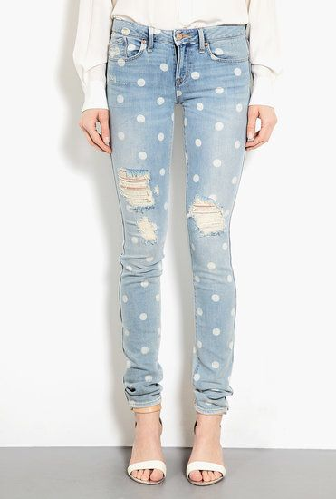 Dots & distressed: @Marc Jacobs Intl