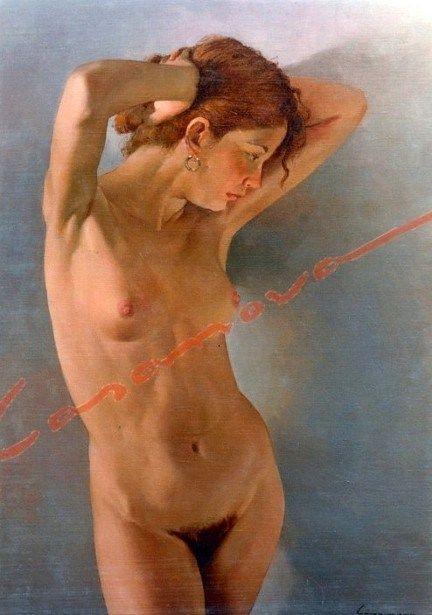 Joven desnuda