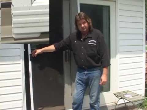 Sliding Screen Door Repair Kit In 2020 With Images Sliding