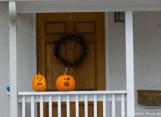 Décorations halloween pumkin carving citrouilles - Madame Ananas blog http://madame-ananas.fr
