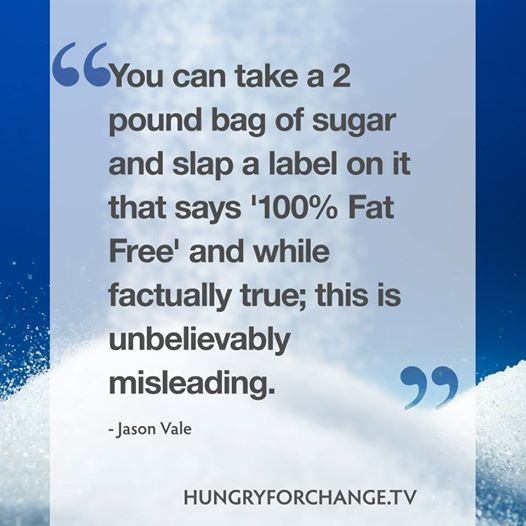 Don't be mislead. Learn the secrets! www.hungryforchange.tv #hungryforchange #juicemaster #quotes