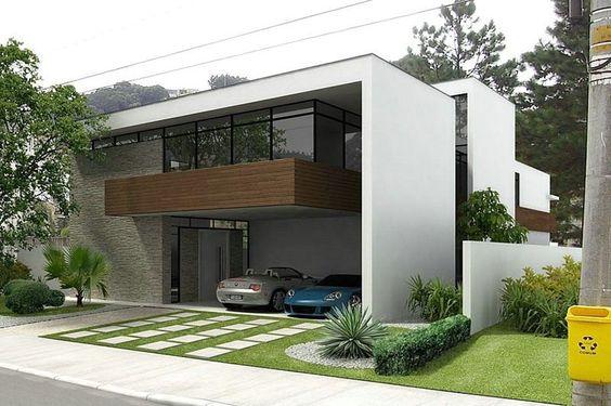 Desain Carport dengan Grass Brick di Malang dan Batu