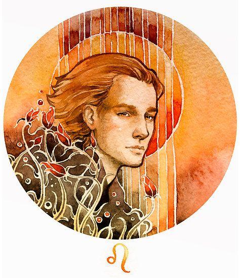Leo by Losenko Mila :: 30 watercolor artworks
