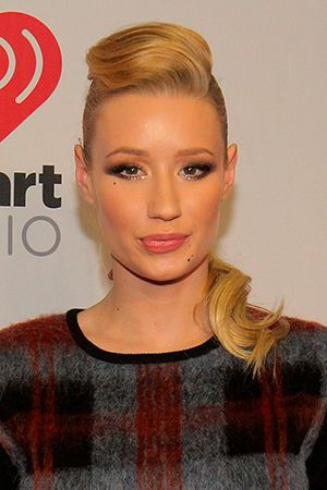 Stuck in a Holiday Style Rut? Iggy Azalea's Retro Updo is Here to Inspire Your Next Party Look