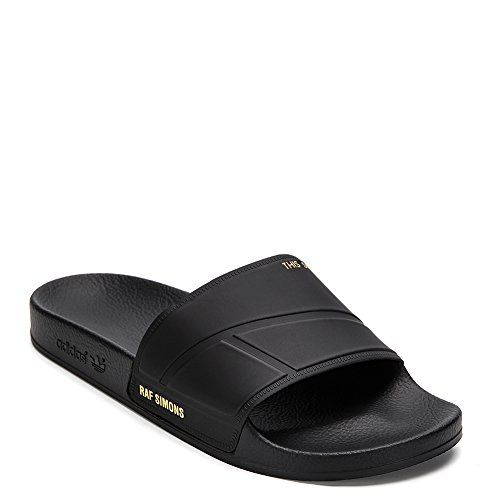 Sentirse mal Cubeta Del Sur  Adidas X Raf Simons Mens Bunny Adilette Slide Slipper BY9813 Black UK 7 US  75 DM >>> Amazon most trusted e-retailer #A…   Adidas fashion, Slide  slipper, Raf simons