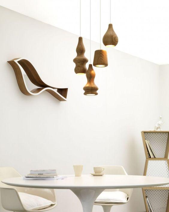 Das Lampen Design vertritt den skandinavischen Stil