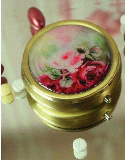 Roses Pill Box from Victorian Trading Co.