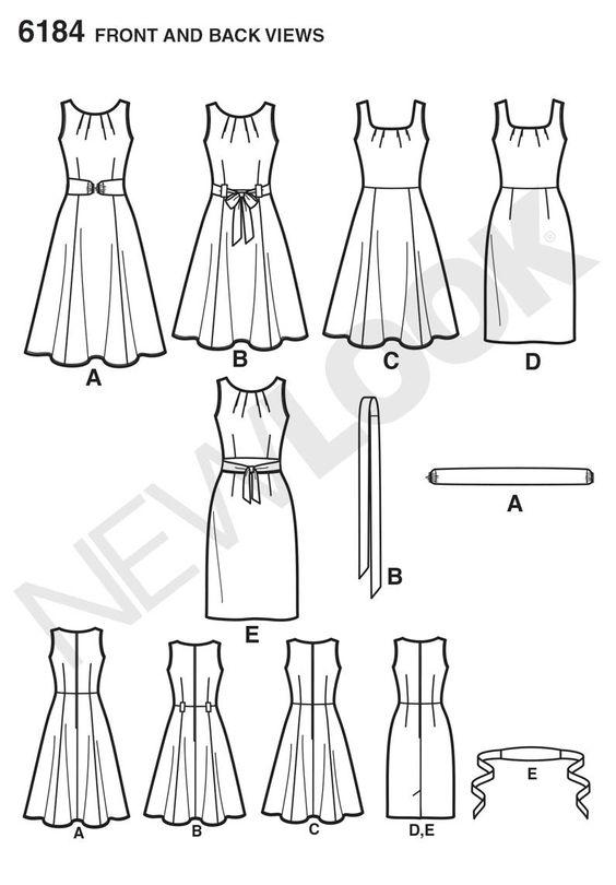 NL6184 Misses' Dress