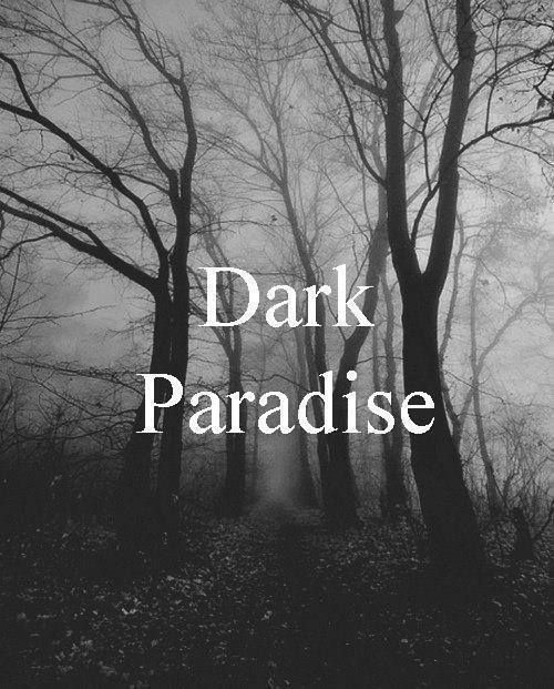 Sometimes, if everything is going a certain way, I'm more comfortable in the darkness..