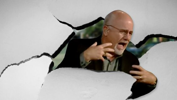 Dave Ramsey Bursts Through Wall Like Kool-Aid Man To Stop Christian From Using…