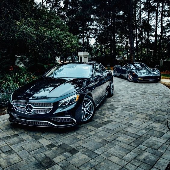 Mercedes benz coupe and pagani huayra on pinterest for Mercedes benz s65 coupe