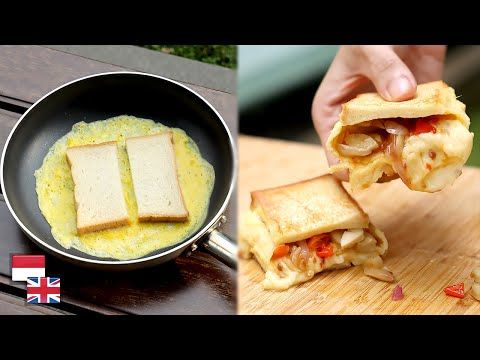 5 Menit Jadi Resep Roti Telur Lipat Korea Pakai Cabe Makin Maknyus Youtube Roti Cooking Recipes Egg Sandwich Recipe