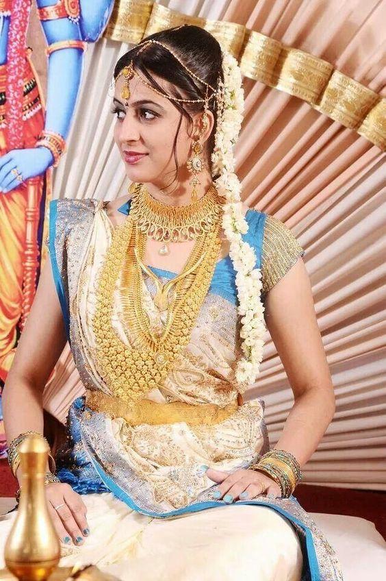 Beautiful malayalee bride
