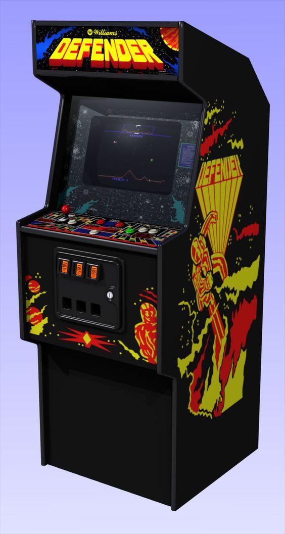 atari arcade defender game free