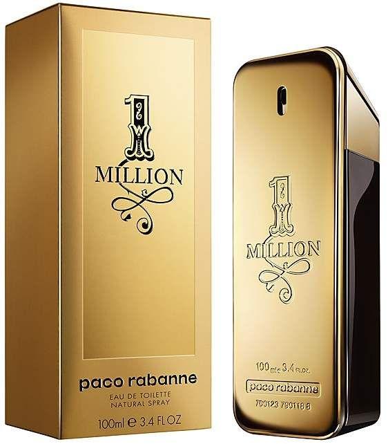 1 Million Eau De Toilette 3 4 Oz With Images Men Perfume Paco Rabanne Paco Rabanne Perfume