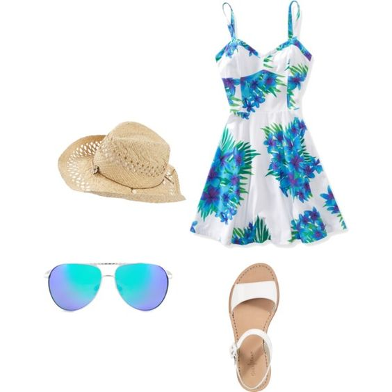 """walk on the beach"" by mandy-e-racine on Polyvore"