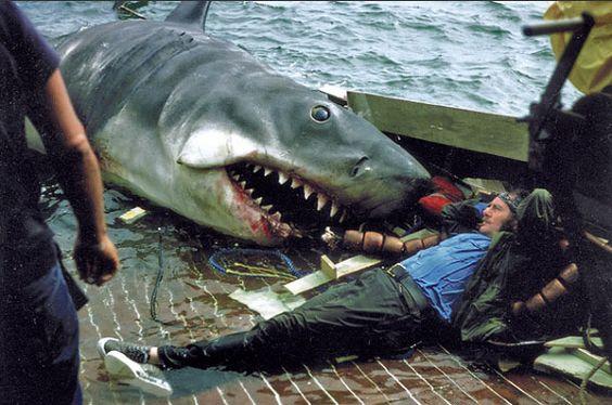 Detrás de cámaras: Tiburón, 1975