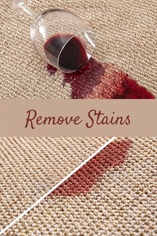 How To Remove A Red Wine Stain On Furniture And Carpet In 2020 Red Wine Stains Wine Stains Stain