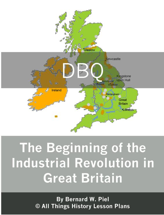 The advance of the industrial revolution in great britain
