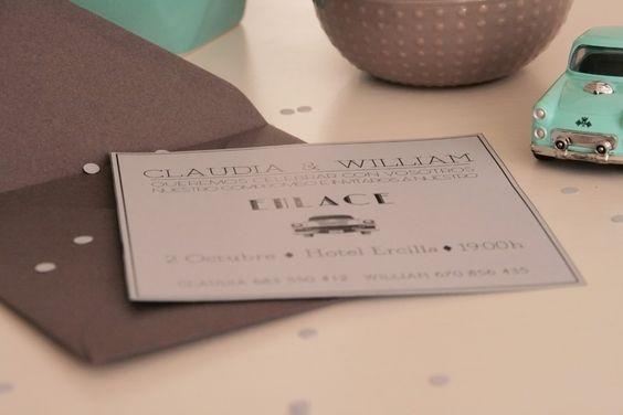 Invitaciones de boda / Wedding invitations