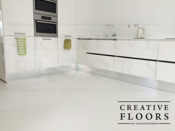 Pin by creative floors gietvloeren on gietvloer keuken   resin ...
