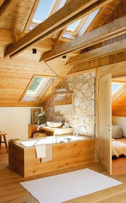 Ilumina Tu Buhardilla El Blog De Insmatcaldes Com Casas Casas De Montana Casas Rusticas