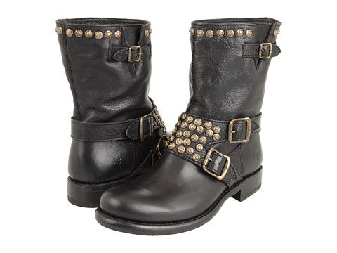 My latest boot obsession.  Oh Yeah...Frye Jenna Studded Short