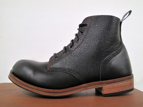 Dundas Type 01 Black Zug   Dundas Footwear