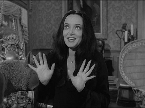 Morticia Addams. For someone who's name means death she could be pretty lively on the show.