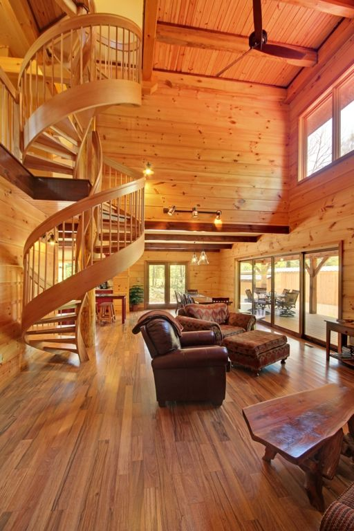 Best Timber Frames Open Stairs And Spirals On Pinterest 640 x 480